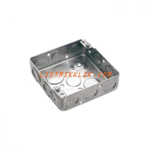 SQUARE OUTLET BOX DS-3744