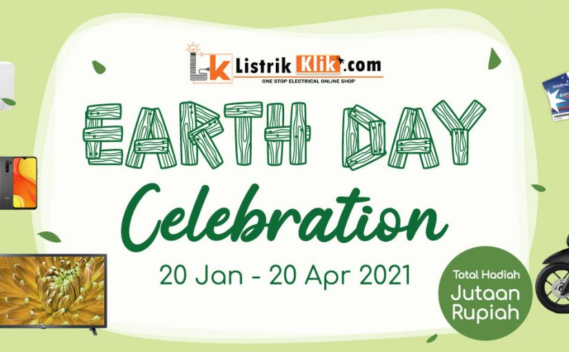 Undian ListrikKlik Earth Day Celebration