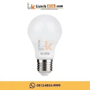 IN-LITE LED BULB LAMPU BOHLAM 15 WATT PUTIH