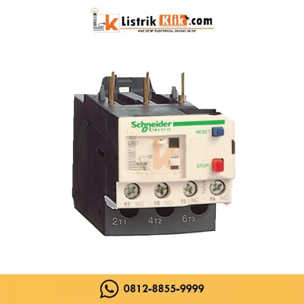 SCHNEIDER THERMAL OVERLOAD RELAY LRD01 (0.10-0.16A)