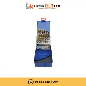 C-MART Mata Bor Besi 10mm HSS Twist Drill CA0100-10.0 10 mm CMART
